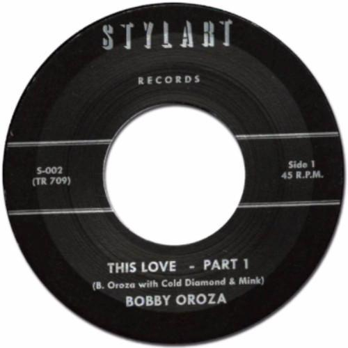 "Bobby Oroza – This Love (Vinyl 7"")"