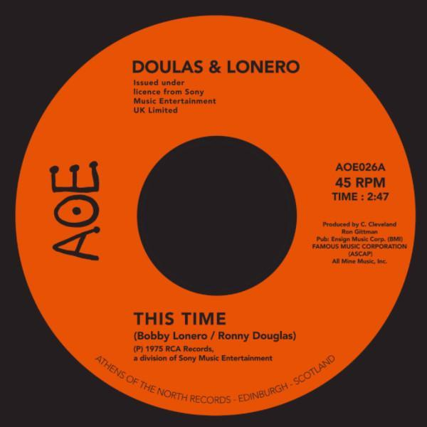 "Douglas & Lonero ‎– This Time (Vinyl 7"")"