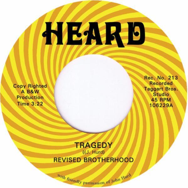 "The Revised Brotherhood - Tragedy (Vinyl 7"")"