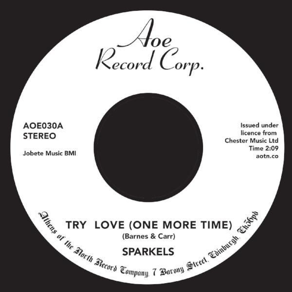 "The Sparkels ‎– Try Love (Vinyl 7"")"