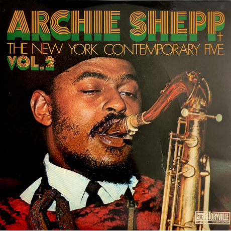 Archie Shepp + The New York Contemporary Five ‎– Vol. 2 (Vinyl LP)