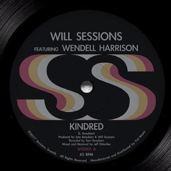 "Will Sessions – Kindred (Vinyl 7"")"