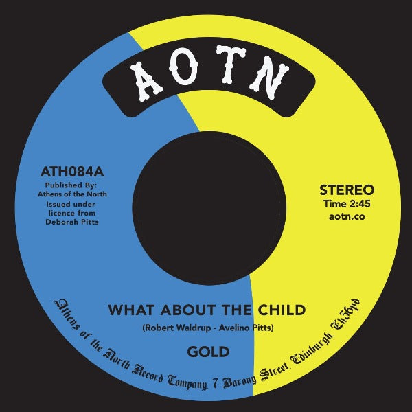 "Gold ‎– What About The Child (Vinyl 7"")"