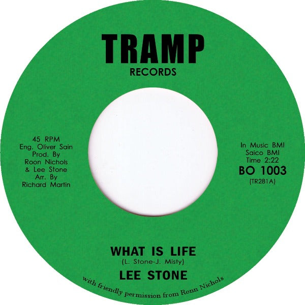 "Lee Stone – What Is Life (Vinyl 7"")"