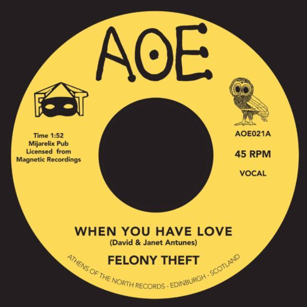 "Felony Theft - When You Have Love (Vinyl 7"")"