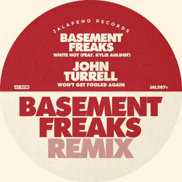 "Basement Freaks & John Turrell - White Hot (Vinyl 7"")"