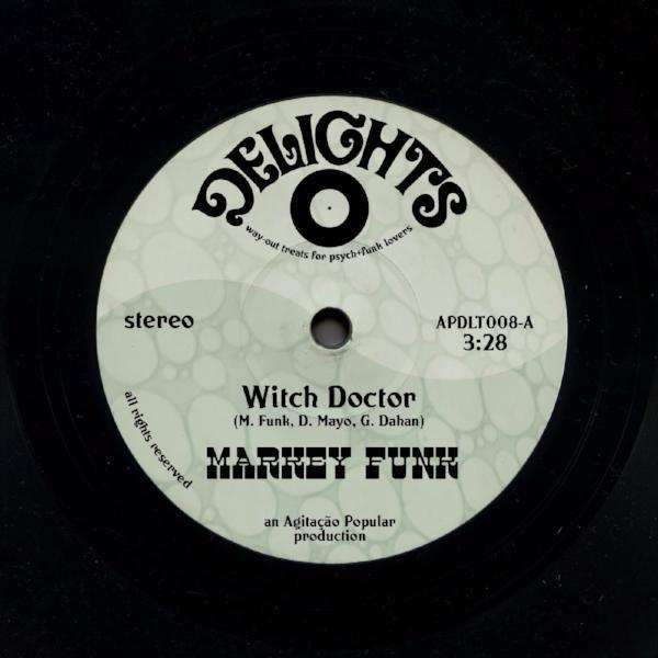 "Markey Funk ‎– Witch Doctor (Vinyl 7"")"