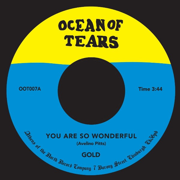 "Gold - You Are So Wonderful (Vinyl 7"")"