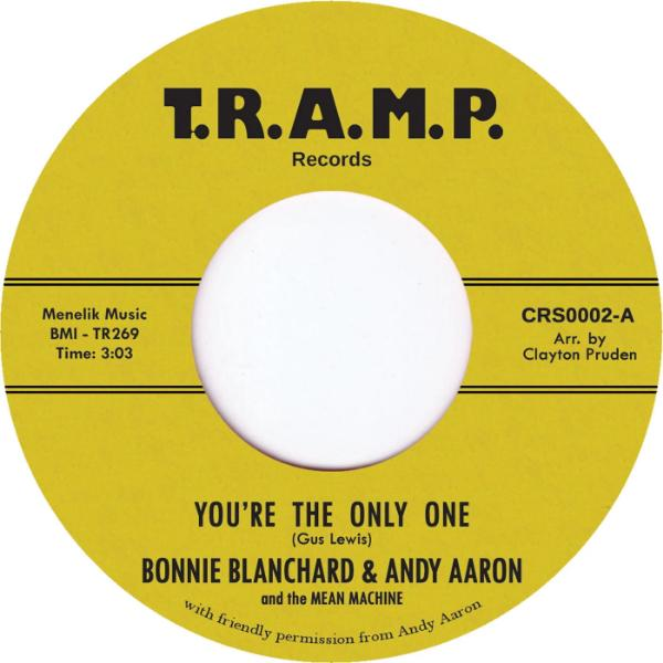 "Bonnie Blanchard & Andy Aaron ‎– You're The Only One (Vinyl 7"")"