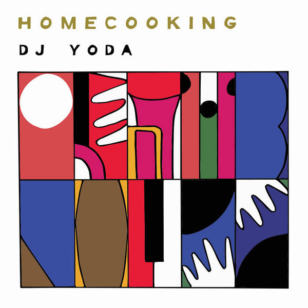 DJ Yoda ‎– Homecooking (Vinyl LP)