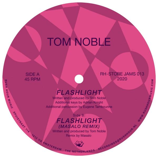 "Tom Noble ‎– Flashlight (Vinyl 12"")"