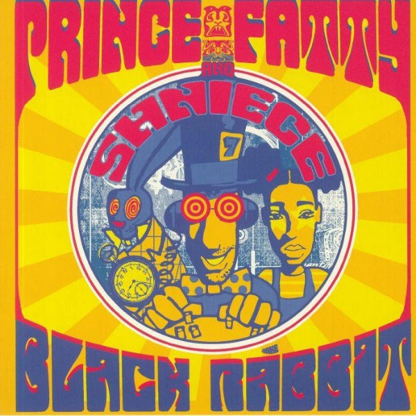 "Prince Fatty and Shniece - Black Rabbit (Vinyl 7"")"
