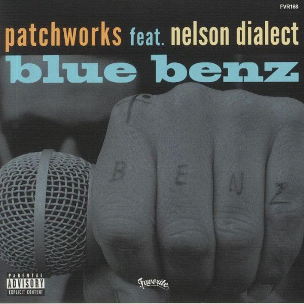 "Patchworks feat Nelson Dialect - Blue Benz (Vinyl 7"")"