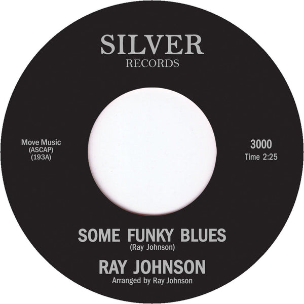 Ray Johnson - Some Funky Blues (Vinyl 7'')
