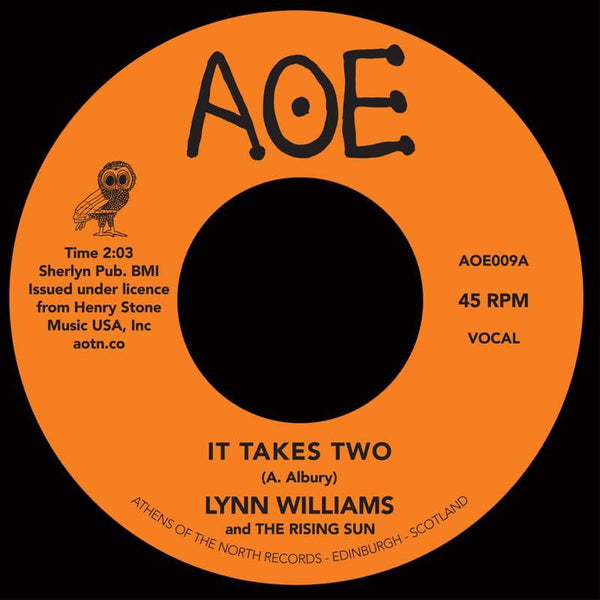 Lynn Williams - It Takes Two (Vinyl 7'')