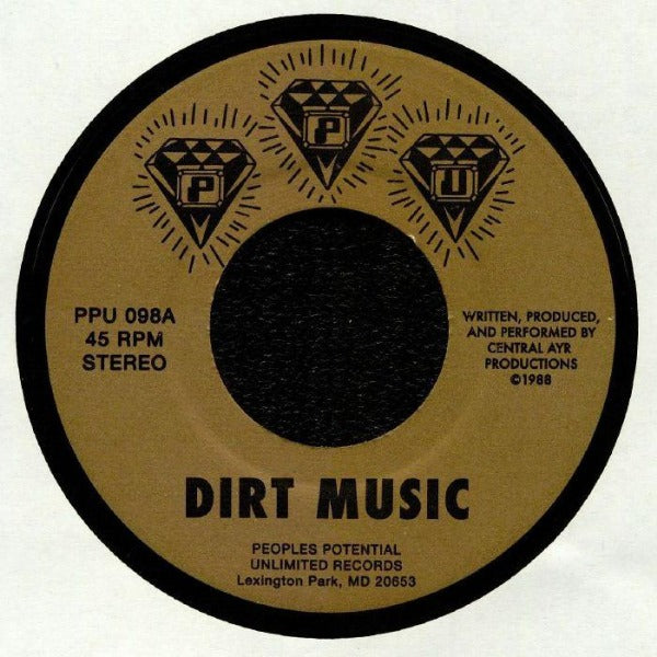 "CENTRAL AYR PRODUCTIONS - Dirt Music (Vinyl 7"")"