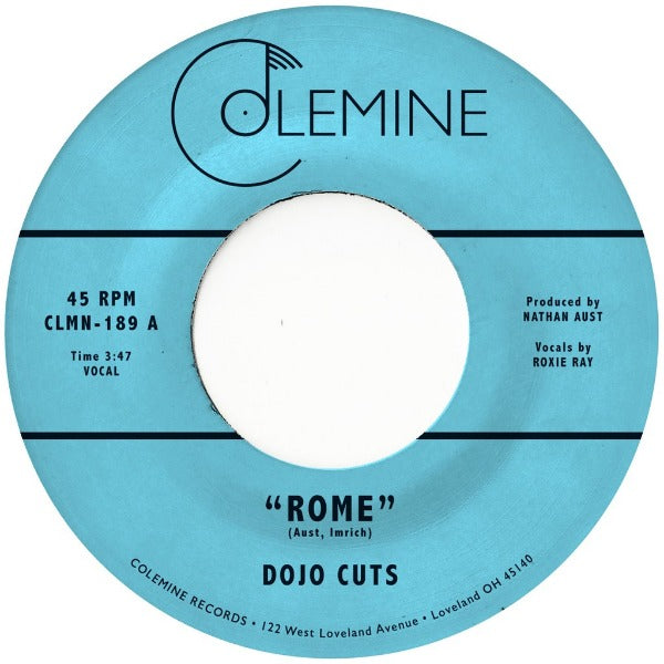 "Dojo Cuts ‎– Rome / Falling In Love Again (Vinyl 7"")"