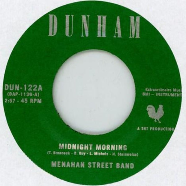 "Menahan Street Band ‎– Midnight Morning / Stepping Through Shadow (Vinyl 7"")"
