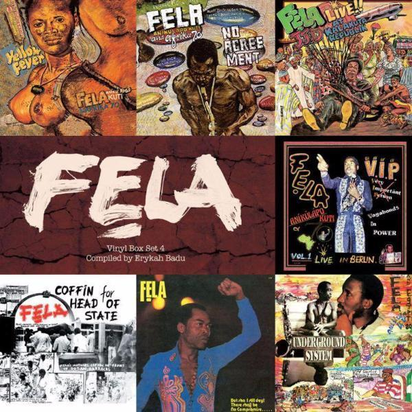 Fela Kuti - Box Set 4 (Vinyl 7xLP Box)