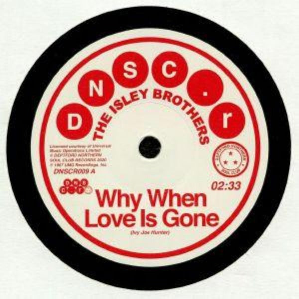 "The Isley Brothers / Brenda Holloway ‎– Why When Love Is Gone / Can't Hold The Feeling Back (Vinyl 7"")"