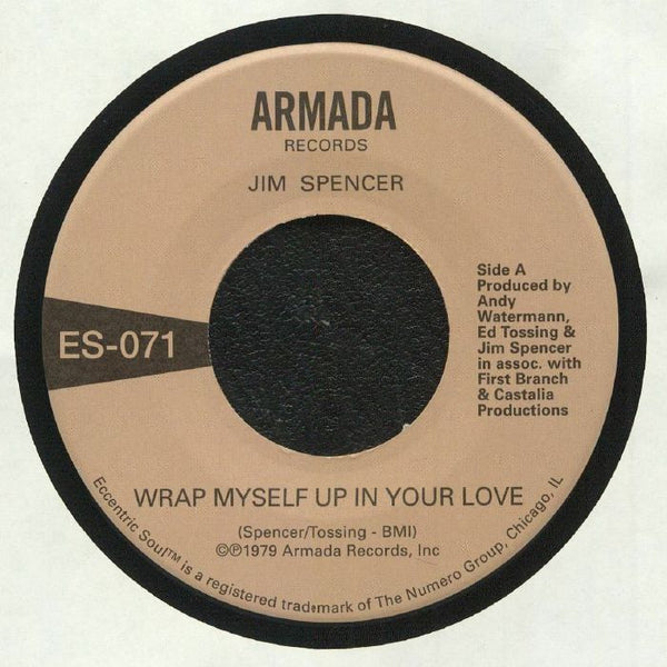 "Jim Spencer / Angie Jarée ‎– Wrap Myself Up In Your Love (Vinyl 7"")"