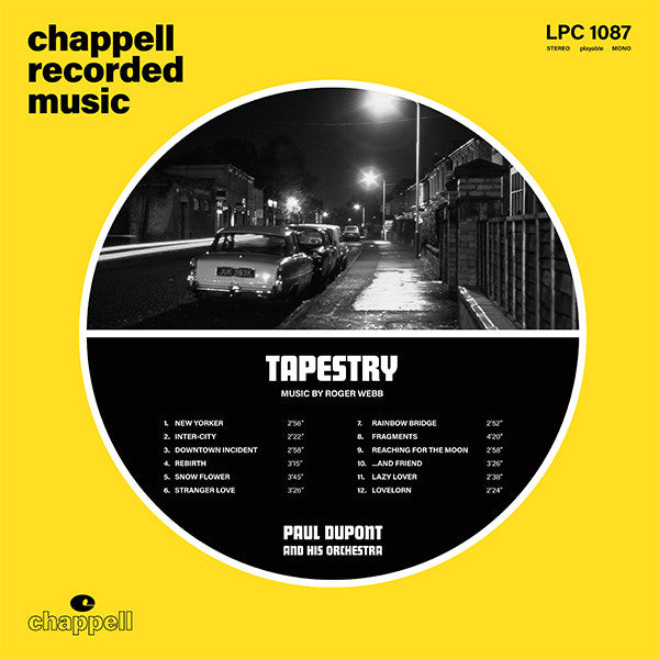 Paul Dupont And His Orchestra ‎– Tapestry (Vinyl LP)