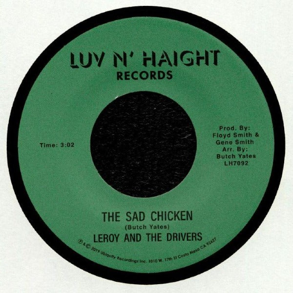 "Leroy And The Drivers ‎– The Sad Chicken (Vinyl 7"")"
