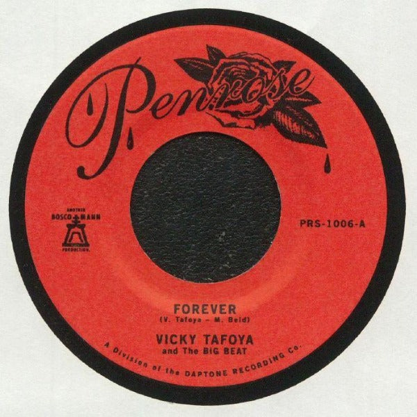 "Vicky Tafoya And The Big Beat ‎– Forever/ My Vow To You (Vinyl 7"")"