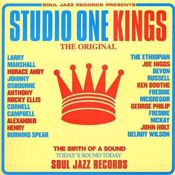 Various ‎– Studio One Kings (Vinyl 2LP)