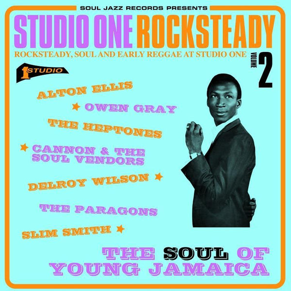Various - Studio One Rocksteady Vol. 2 (Vinyl 2LP)