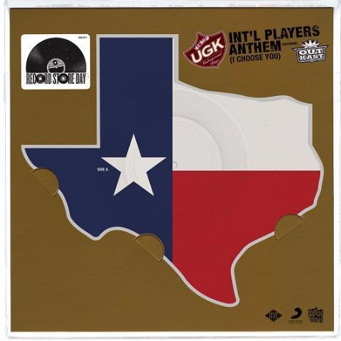 "UGK & Outkast - Int'l Players Anthem (Ltd. Texas Pic Disc Vinyl 12"")"