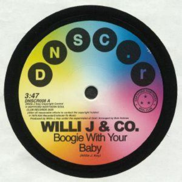 "Willie J & Co / Rare Function ‎– Boogie With Your Baby / Disco Function (Vinyl 7"")"