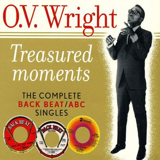 O. V. Wright - Treasured Moments: Back Beat/ ABC Singles (Vinyl LP)