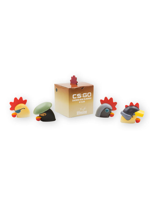 CS:GO Chicken Vinyl Heads Blind Box + Digital Unlock