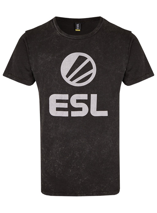ESL Classic T-shirt Stone Wash Grey