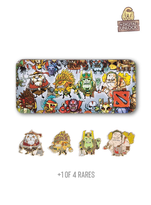 Dota2 Boxed Pin Pack Series 6