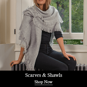 Women's Cashmere Scarves and Shawls