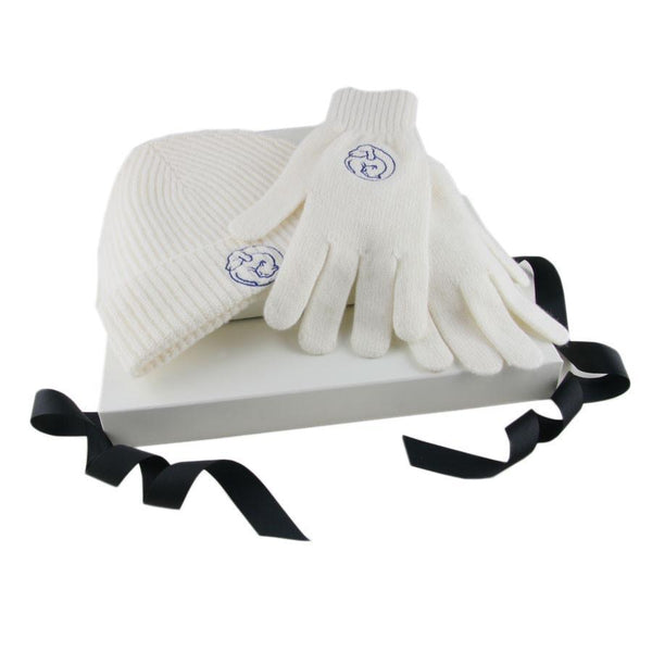 Corporate Branded Beanie and Gloves Set