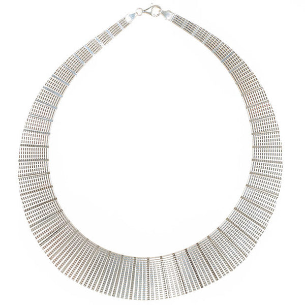 Lily Sterling Silver Collar