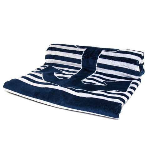 Marine Anchor Egyptian Cotton Beach Towel