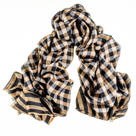 Grafton Merino Wool and Silk Scarf