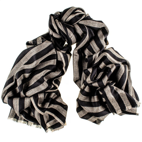Addison Merino Wool and Silk Scarf