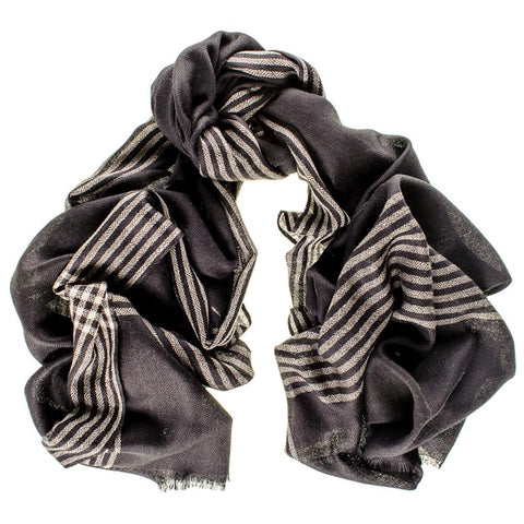 Rochester Merino Wool and Silk Scarf