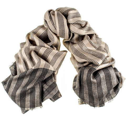 Regent Merino Wool and Silk Scarf