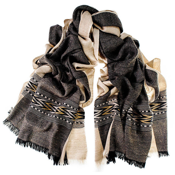 Manali Himalayan Cashmere and Wool Scarf