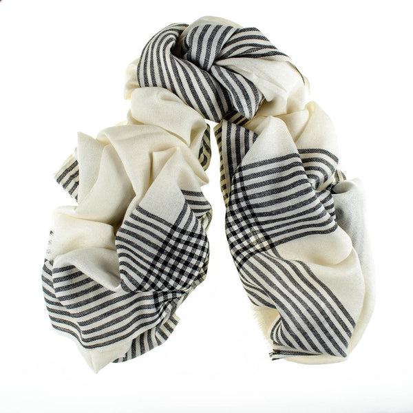 Hanover Merino Wool and Silk Scarf