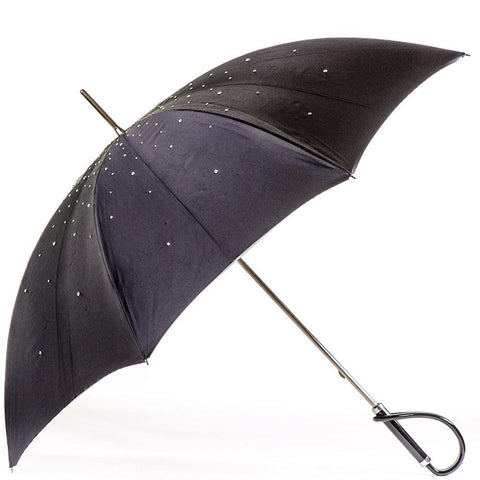 Swarovski Crystal Luxury Double Canopy Italian Umbrella