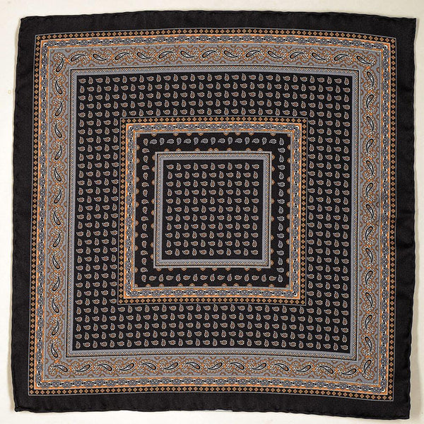 Portunus Italian Silk Pocket Square