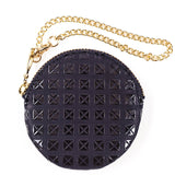 Black Lacquer Deerskin Coin Purse