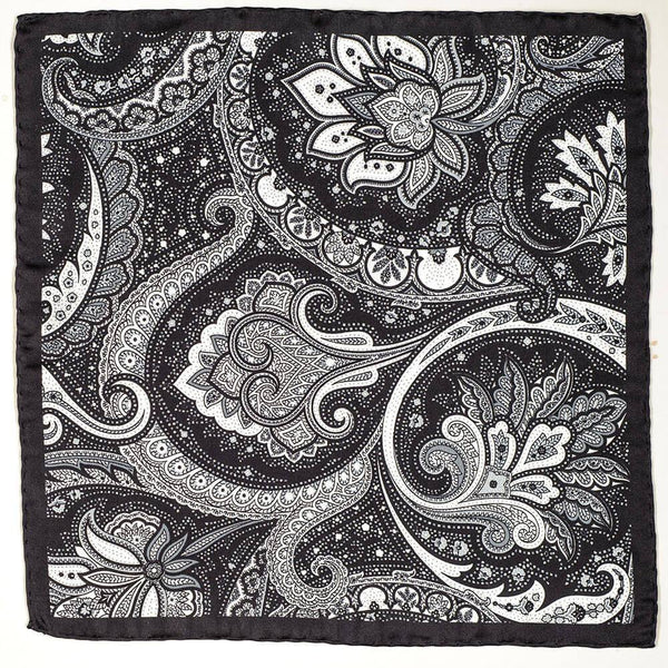Nerio Italian Silk Pocket Square